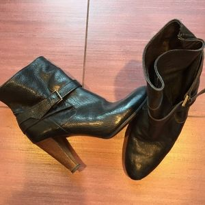 Joie leather ankle boots